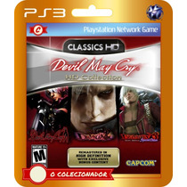 Devil May Cry Hd Collection (cód Id Ps3)