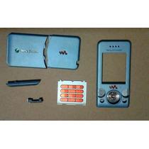 Envio Gratis Carcasa Caratula Con Teclado Sony Ericsson W580