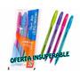 Boligrafos Paper Mate De Colores Estuches Con 4 Unid