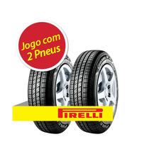 Kit 2 Pneu Aro 14 Pirelli 185/65r14 Cinturato P4 86t