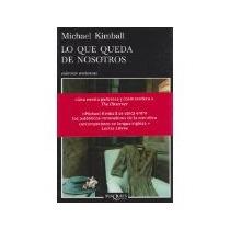Libro Lo Que Queda De Nosotros *cj