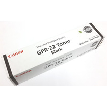 Toner Canon Gpr 22 Original Negro Somos Tienda Fisica