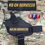 Parche K9 En Servicio Full Color - Semper Fi Tactical®