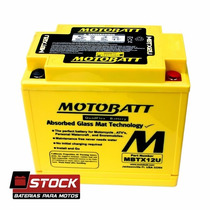 Bateria Motobatt Mbtx12u Ytx12-bs Cbr 1100 Bandit 1200 Comet