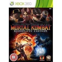 Mortal Kombat 9 Komplete Edition | Xbox 360 Nuevo Y Sellado