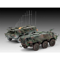 Tpz 1 Fuchs Eloka Hummel/abc Spurpanzer 1:72 03139 - Revell