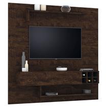 Home Painel Suspenso Rack Essenciale P/ Tv Até 52 Pol Noce