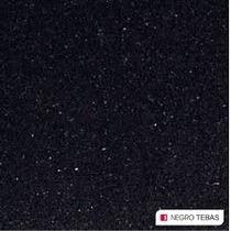 Mesada Cuarzo 2,00 X 0,60 Negro Tebas Silestone+bachasimple