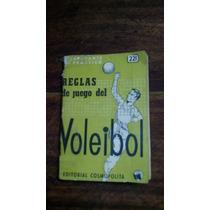 Reglas De Juego Del Voleibol. Ed De Bolsillo, 1974. 12 X 8