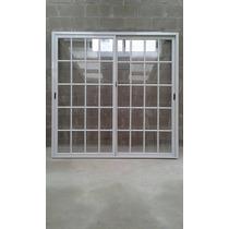Ventana Balcon De 180x200 Vidrio Repartido Con Alto Transito