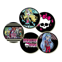 Monster High Souvenir Prendedores Pines Infantiles