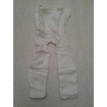 Medias Panty Para Niñas Color Blanco