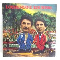 Lourenço E Lourival 1981 Lp Capa Bom Estado