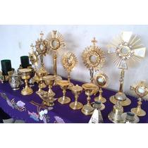 Artículos Religiosos, Cáliz, Custodias, Sagrarios, Acetres..