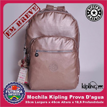 Mochila Kipling Escolar Seoul Original Impermeável