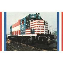 Col 16213 Cartão Postal Trem Locomotiva The Minuteman N