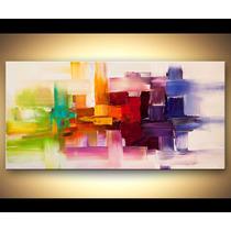Quadro Abstrato Cod 2001 (180cm (l) X 90cm (a))