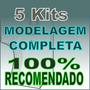 5 Kit Modelagem Comp Roupa Social Malha Lingerie Bebe Moldes