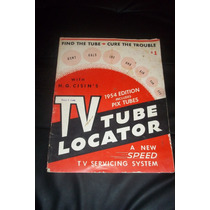 Antiguo Manual Tv Tube Locator Año 1954