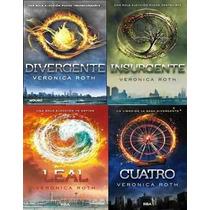 Saga Completa Divergente Cuatro Libros ~ Originales