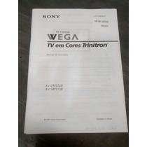 Manual Da Tv Sony Wega Trinitron Kv-29fs12b Kv-34fs13b