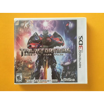 Transformers Rise Of The Dark Spark 3ds Nuevo Sellado