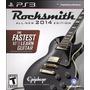 Juego Ps3 Rocksmith 2014 Con Cable Real Tone Original