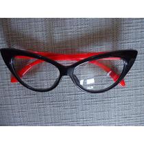 Oculos Olhos Gato Vintage Feminino