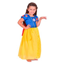 Disfraz Blancanieves Solo Talle 0 -jugueteria Minijuegos!