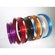 Aro Alumínio Crosser/nxr125/150bros 19x185+17x215 Dourado