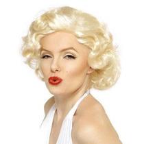 Peluca Marilyn Monroe Importada Excelente Calidad