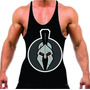 Regata Cavada Bodybuilder Gladiador Musculação Fitness 2