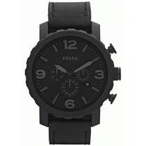 Relógio Fossil Jr1354 Analogic Chronograph Leather Original