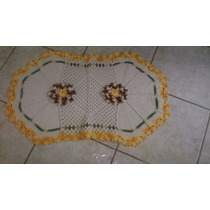 Tapete De Porta Barbante - Vários Modelos E Cores (crochê)