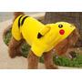 Casaco Pikachu Pokémon Go Nintendo Fantasia Roupa Cães Gatos