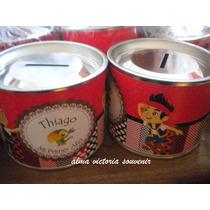 Souvenir Jake Y Los Piratas Alcancias De Lata X 25 U