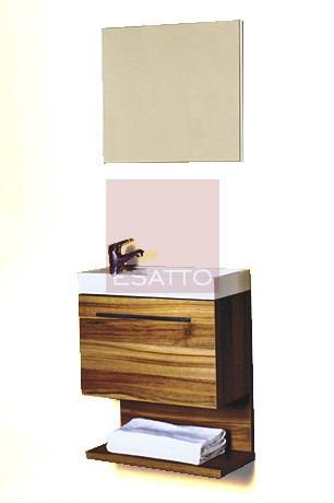 Esatto mueble de ba o coru a 50 estratificado madera for Muebles en la estrada