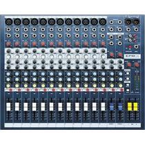 Consola Soundcraft Epm 12. 12 Canales Nuevas. Garantia