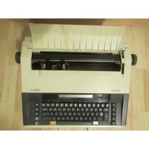 Maquina De Escribir Electrónica Canon Mx 350 Funcionando