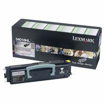 Toner Lexmark 34018hl Black