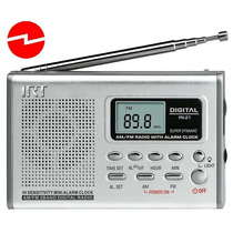 Mini Radio Reloj Digital Irt Fm/am De Bolsillo