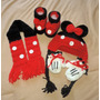 Kit New Born Minie Ou Mickey (4 Peças) Em Croche