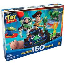 Novo Quebra-cabeça Puzzle Grow 150 Peças Toy Story