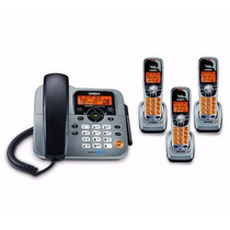 Telefono Fijo Uniden C 3 Exteniones Inalambricas Dect1588-3