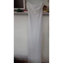 Divino Vestido Largo Maria Vazquez Blanco