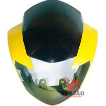 Carenagem Farol Dafra Apache150 Amarela Completa