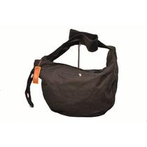 Cartera De Tela Bellagio Bags Color Negro
