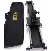 Slider Dolly P/ Camera D-slr Trilho Travelling Filmagem Gtek