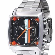 Relógio Jaragar Automatico Luxo Prata Pronta Entrega Barato
