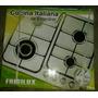 Tope De Cocina Frigilux 4 Hornilla A Gas Tcfr-64sftx. Nueva